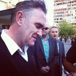 Morrissey llegó a Chile y paseó  por Las Condes en Santiago