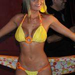 (VIDEO) El piscinazo de la reina del Festival de Viña 2008