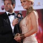 Kenita Larraín fue la más pifiada en la Gala 2012 (VÍDEO)